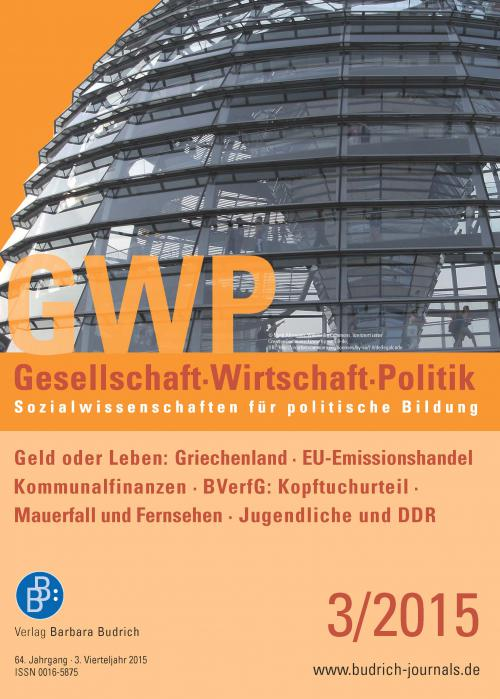 GWP – Gesellschaft. Wirtschaft. Politik 3/2015 cover