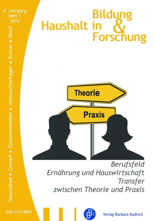 HiBiFo – Haushalt in Bildung und Forschung 1/2015 cover