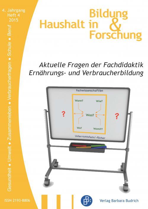 HiBiFo – Haushalt in Bildung und Forschung 4/2015 cover