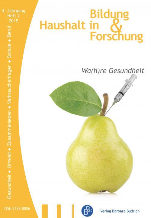 HiBiFo – Haushalt in Bildung und Forschung 2/2015 cover