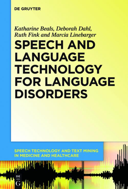 Speech and Language Technology for Language Disorders cover