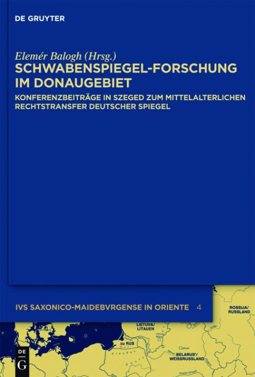 Schwabenspiegel-Forschung im Donaugebiet cover