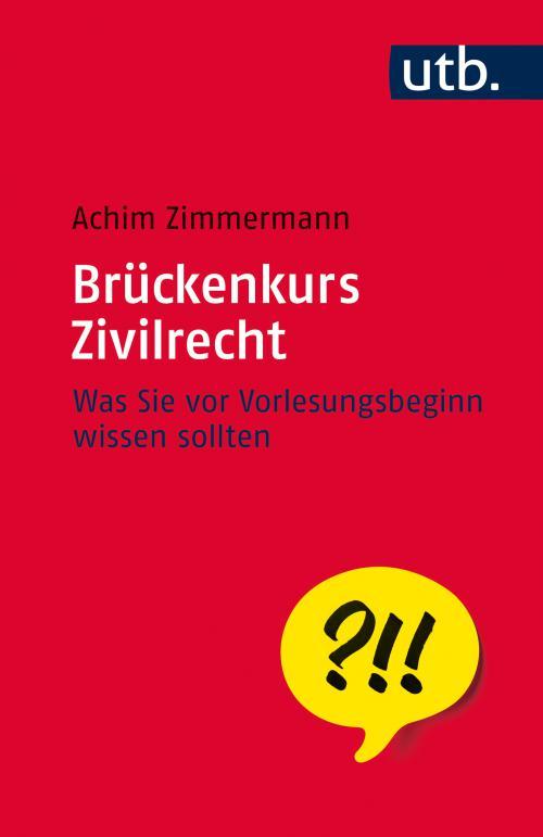 Brückenkurs Zivilrecht cover