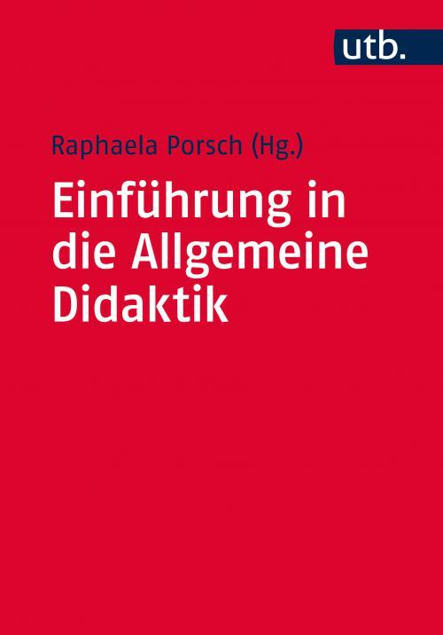 Einführung in die Allgemeine Didaktik cover