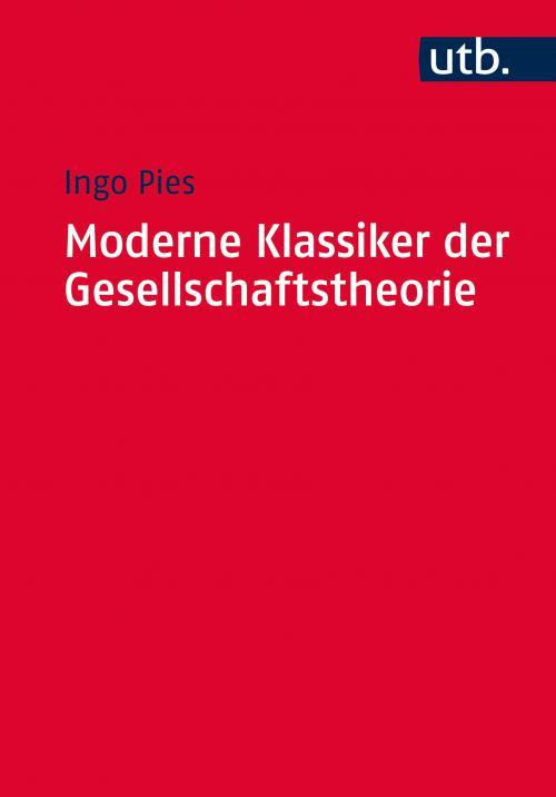 Moderne Klassiker der Gesellschaftstheorie cover
