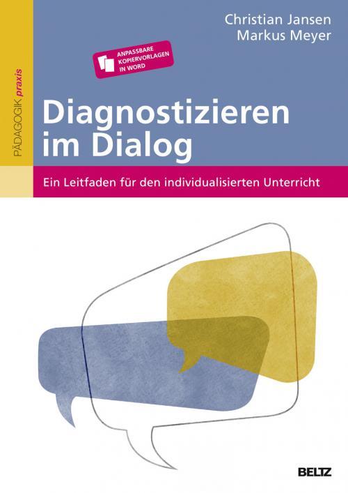 Diagnostizieren im Dialog cover