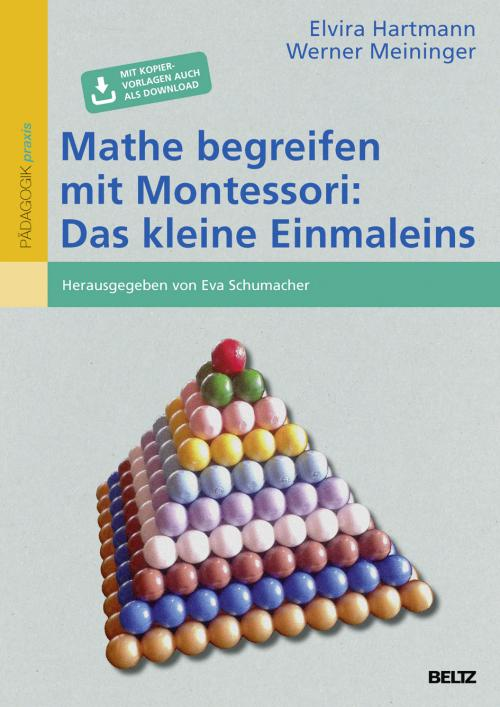 Mathe begreifen mit Montessori: Das kleine Einmaleins cover