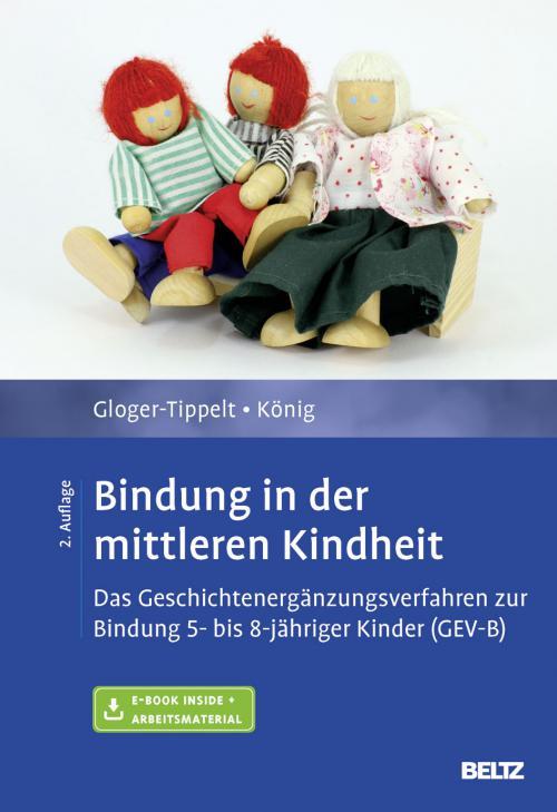 Bindung in der mittleren Kindheit cover