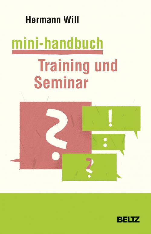 Mini-Handbuch Training und Seminar cover
