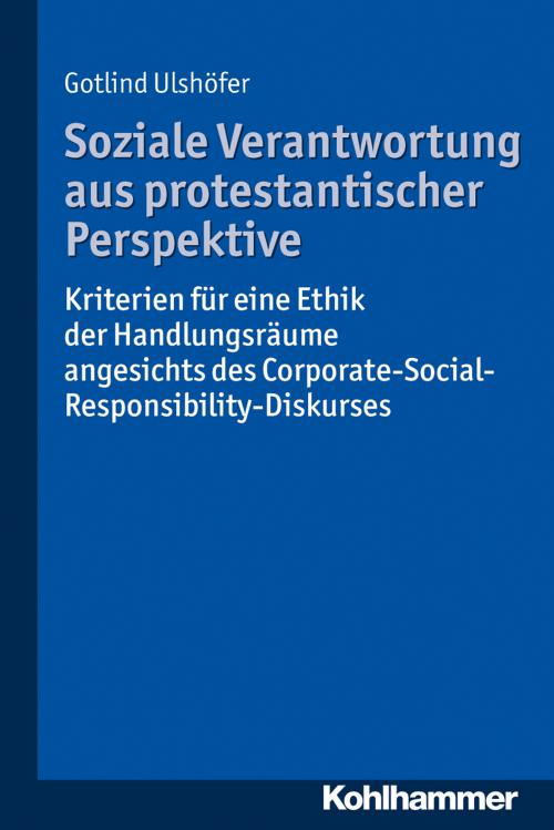 Soziale Verantwortung aus protestantischer Perspektive cover