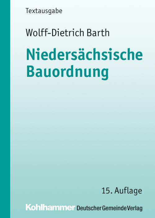 Niedersächsische Bauordnung cover