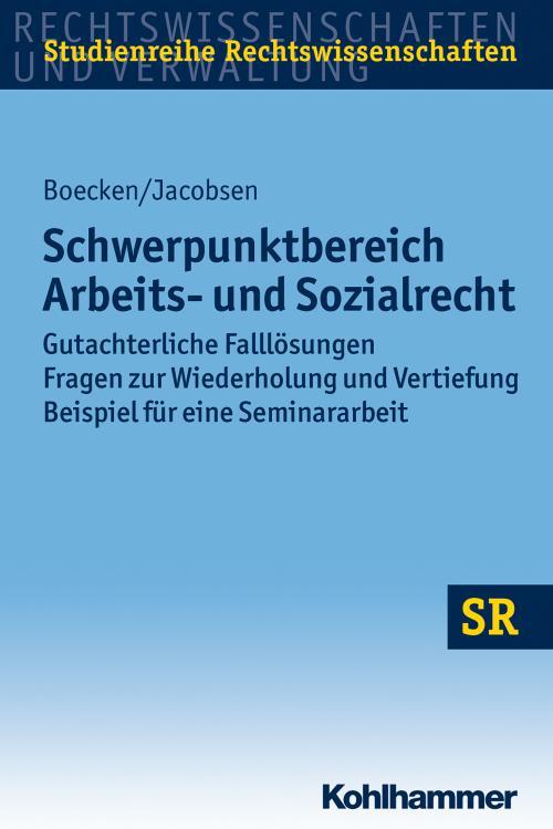 Schwerpunktbereich Arbeits- und Sozialrecht cover