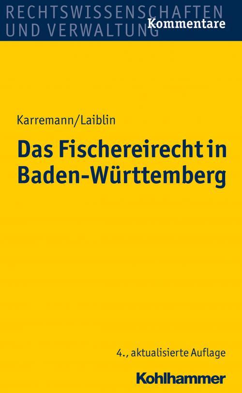 Das Fischereirecht in Baden-Württemberg cover