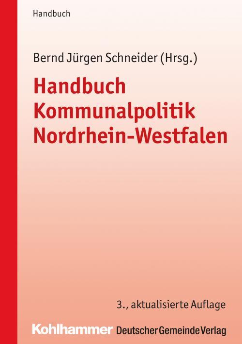 Handbuch Kommunalpolitik Nordrhein-Westfalen cover