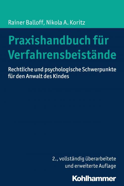 Praxishandbuch für Verfahrensbeistände cover
