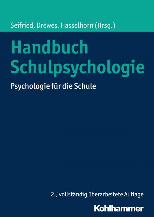 Handbuch Schulpsychologie cover