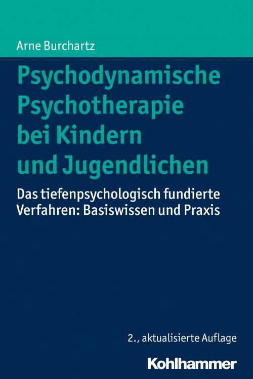 Psychodynamische Psychotherapie bei Kindern und Jugendlichen cover