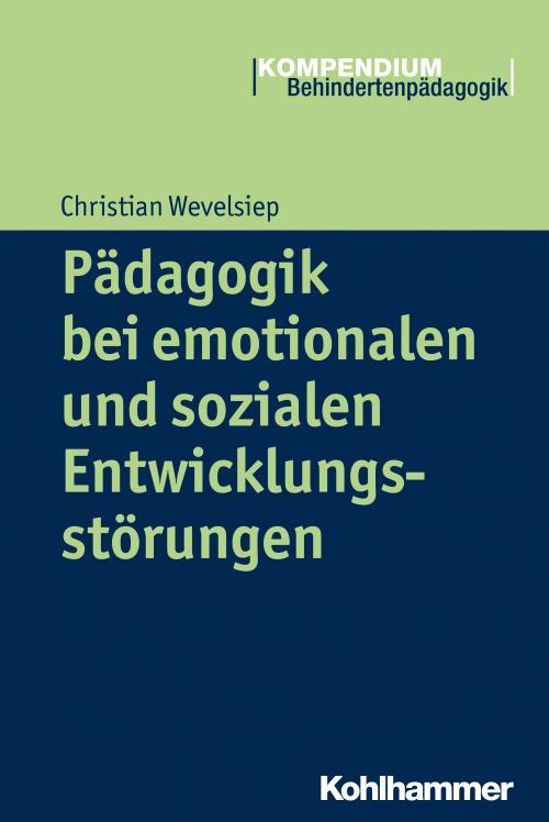 Pädagogik bei emotionalen und sozialen Entwicklungsstörungen cover
