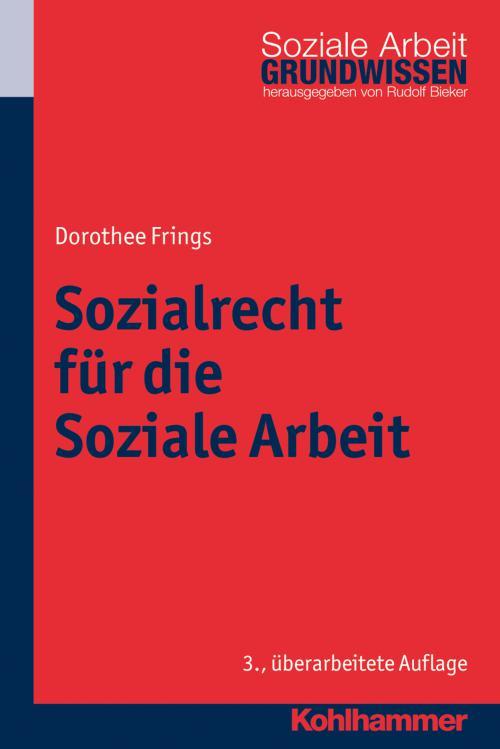Sozialrecht für die Soziale Arbeit cover