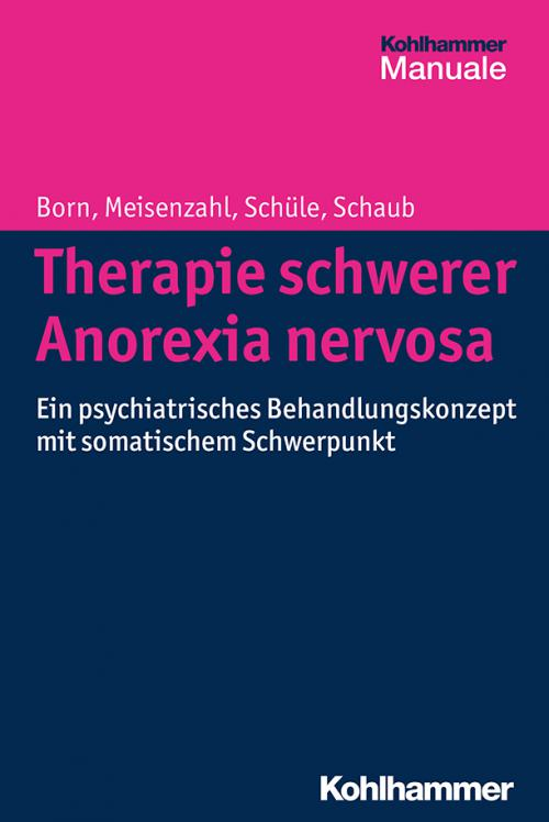 Therapie schwerer Anorexia nervosa cover
