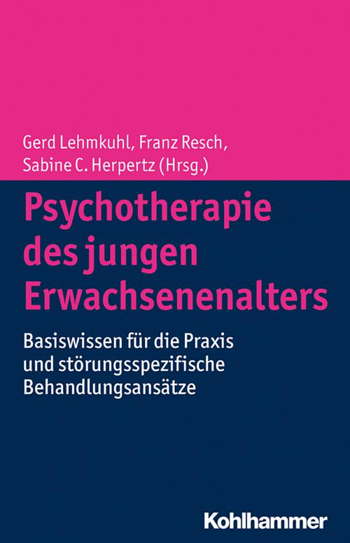 Psychotherapie des jungen Erwachsenenalters cover