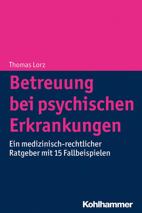 Betreuung bei psychischen Erkrankungen cover