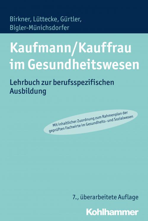 Kaufmann/Kauffrau im Gesundheitswesen cover