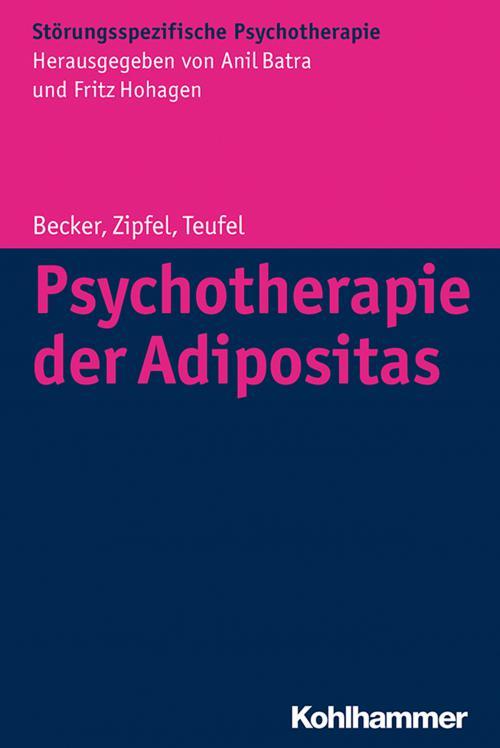 Psychotherapie der Adipositas cover