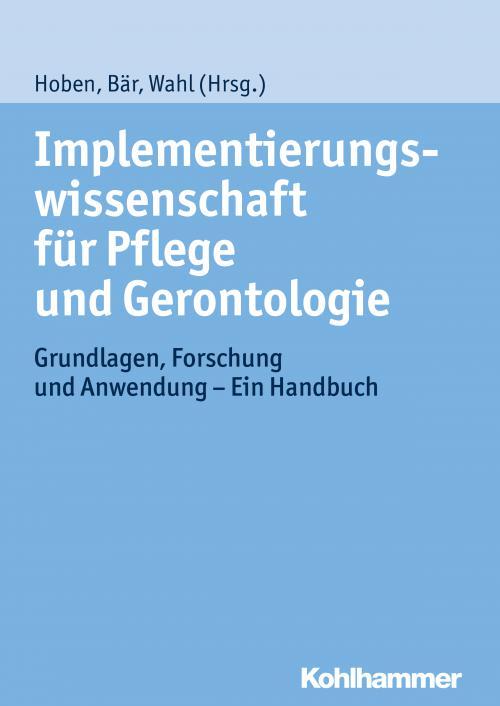 Implementierungswissenschaft für Pflege und Gerontologie cover