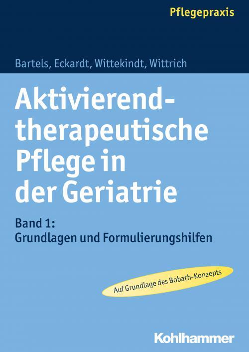 Aktivierend-therapeutische Pflege in der Geriatrie cover