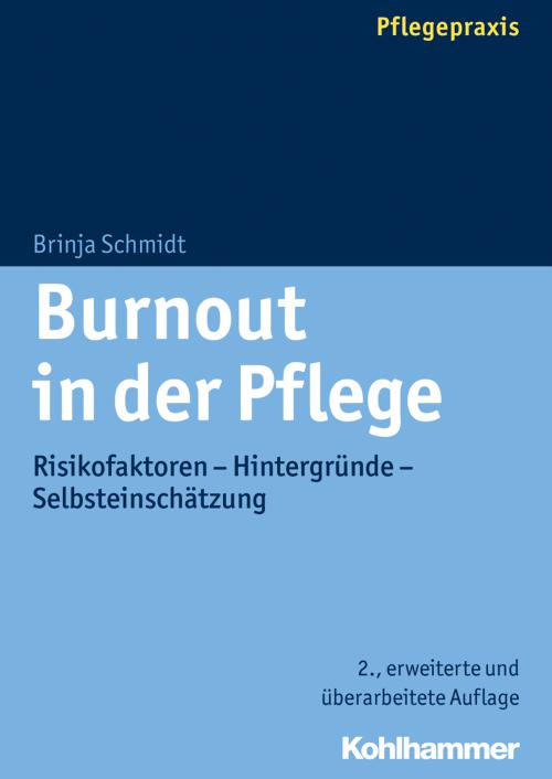 Burnout in der Pflege cover