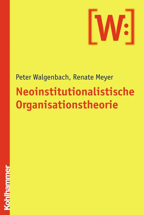 Neoinstitutionalistische Organisationstheorie cover