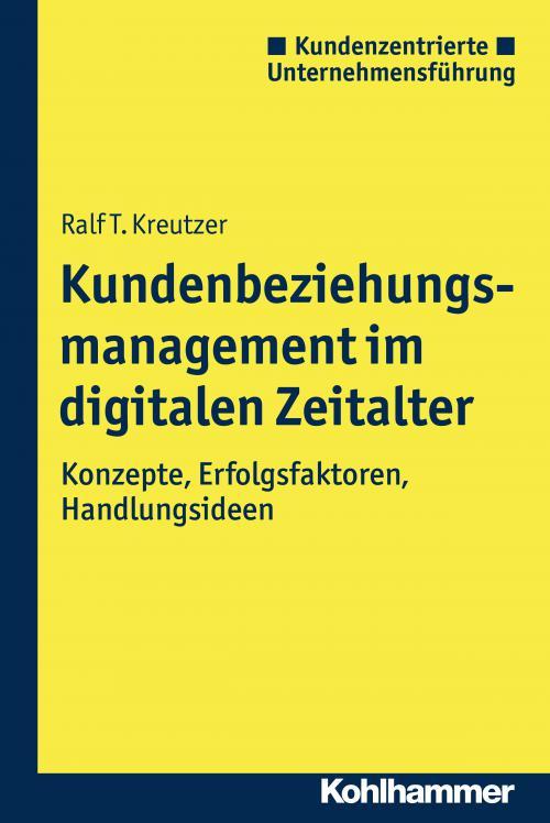Kundenbeziehungsmanagement im digitalen Zeitalter cover