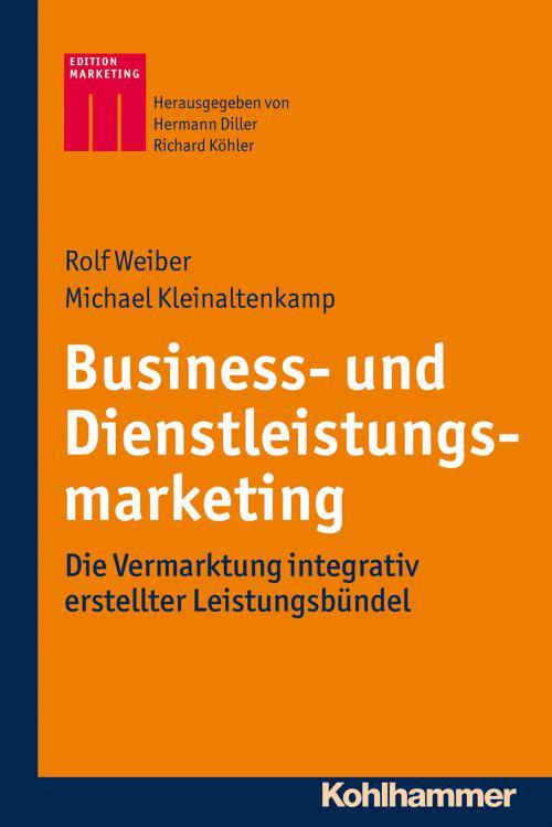 Business- und Dienstleistungsmarketing cover