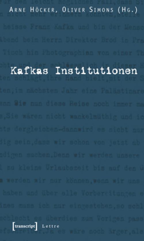 Kafkas Institutionen cover