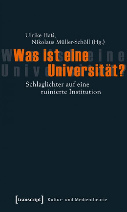 Was ist eine Universität? cover