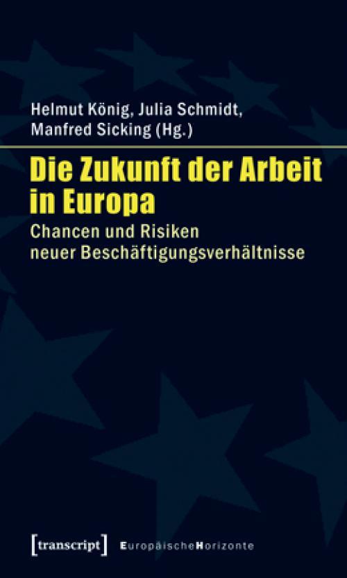 Die Zukunft der Arbeit in Europa cover
