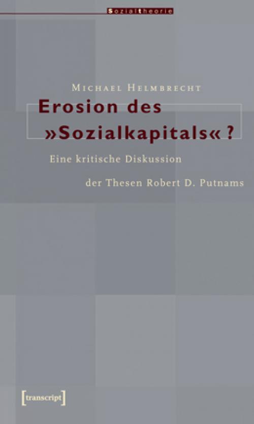 Erosion des »Sozialkapitals«? cover
