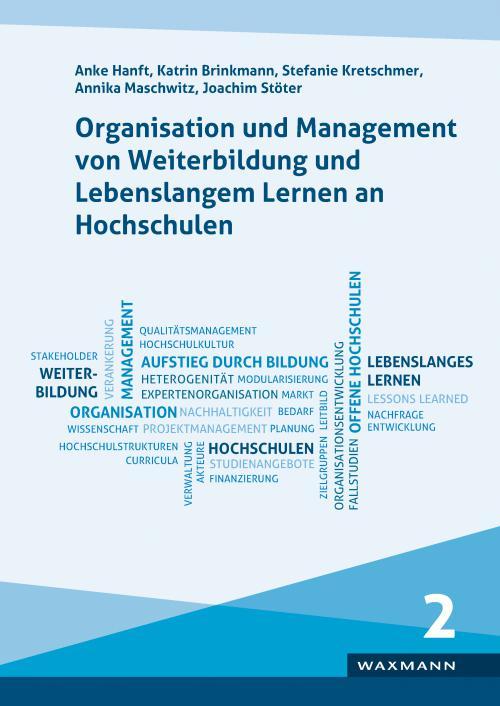 Organisation und Management von Weiterbildung und Lebenslangem Lernen an Hochschulen cover