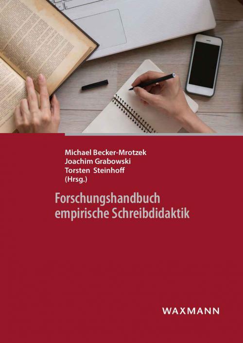 Forschungshandbuch empirische Schreibdidaktik cover