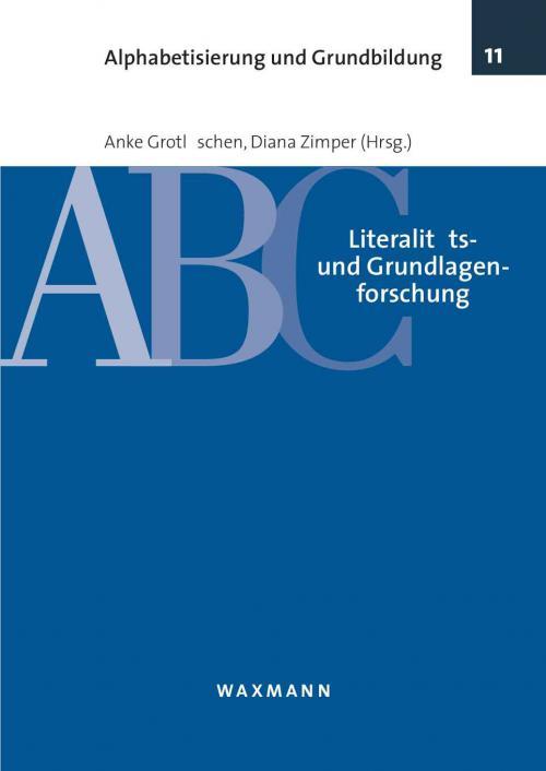 Literalitäts- und Grundlagenforschung cover