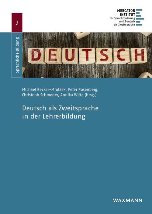 Deutsch als Zweitsprache in der Lehrerbildung cover