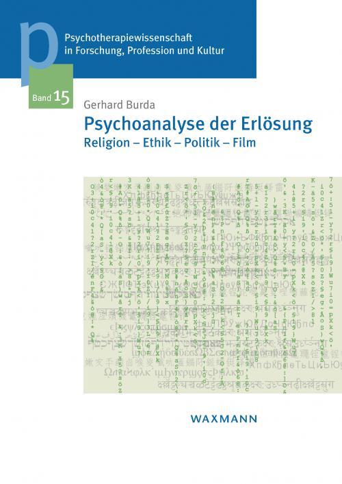 Psychoanalyse der Erlösung cover