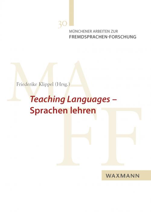 Teaching Languages – Sprachen lehren cover