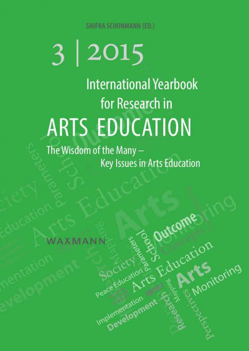 International Yearbook for Research in Arts Education 3/2015 cover