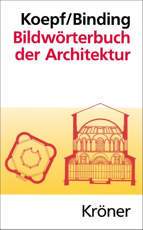 Bildwörterbuch der Architektur cover