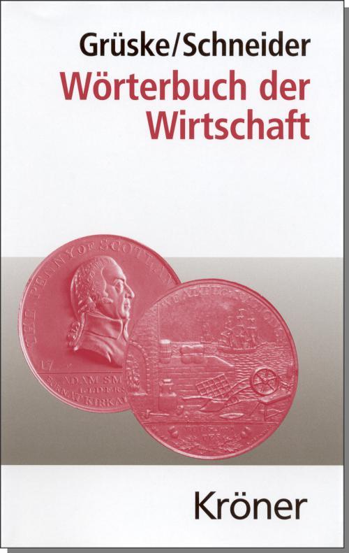 Wörterbuch der Wirtschaft cover
