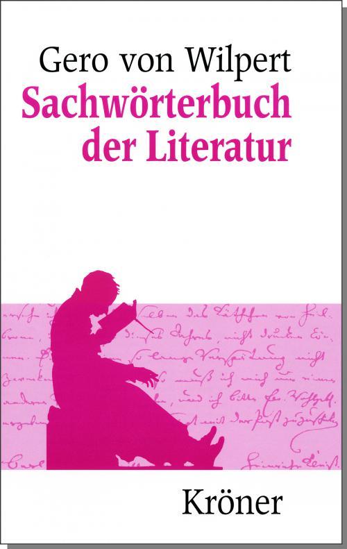 Sachwörterbuch der Literatur cover