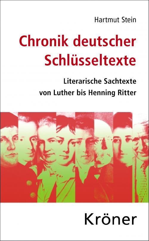 Chronik deutscher Schlüsseltexte cover