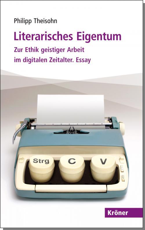 Literarisches Eigentum cover